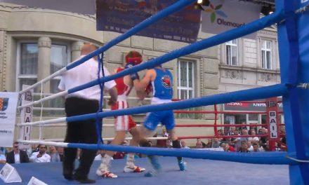 Náměstí ožilo mezistátním utkáním v boxu