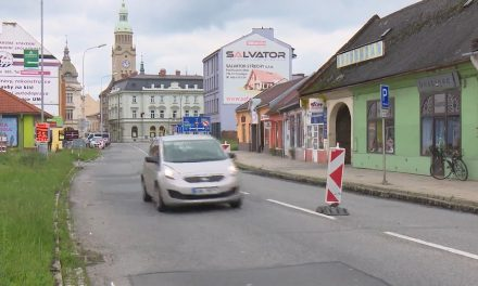 Rekonstrukce Plumlovské ulice pokračuje