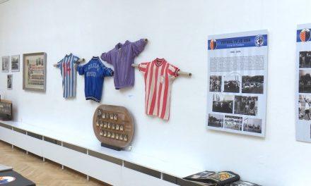 Muzeum představuje historii prostějovského fotbalu