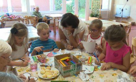 Domov seniorů spolupracuje s mateřskou školou