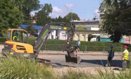 Na Florianském náměstí začaly stavební práce