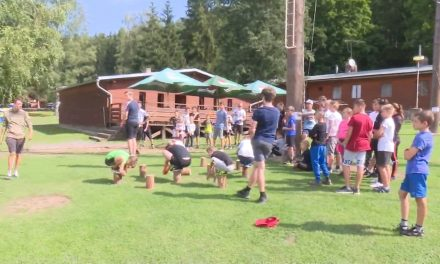 Děti od šesti do patnácti let si užívaly na táboře v Baldovci