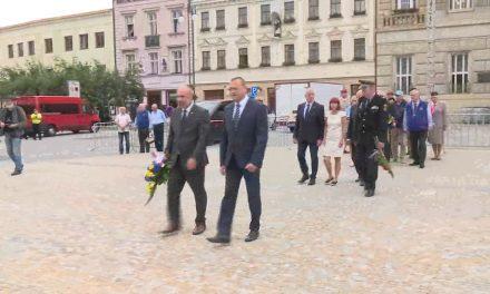 Prostějov uctlil památku obětí roku 1968