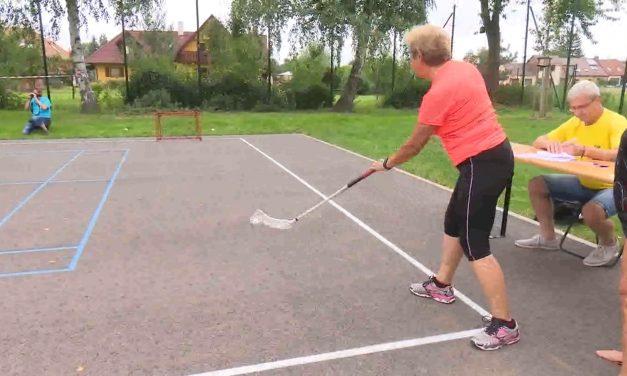 Senioři sportovali a soutěžili ve Vrahovicích