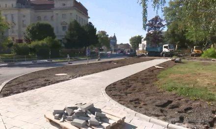 Floriánské náměstí je znovu průjezdné