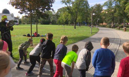 V Kolářových sadech si děti připomněly Den bez aut
