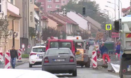 Práce na Plumlovské ulici skončí na konci října