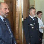 Radnici v Prostějově navštívili srbští policisté