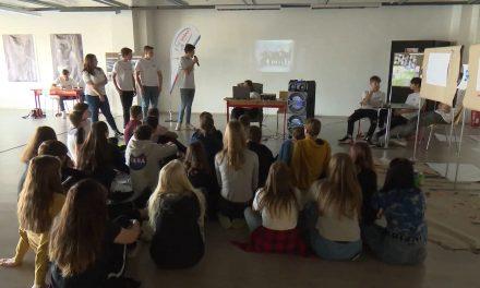 Studenti v Prostějově představovali program Erasmus