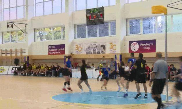Mladí korfbalisté do 21 let se v Prostějově utkali o evropský titul