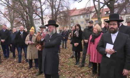 Na židovský hřbitov se vrátil náhrobek významného rabína