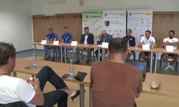 Fotbalový 1. SK Prostějov není s podzimem spokojen