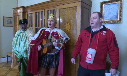 Tři králové dorazili na radnici