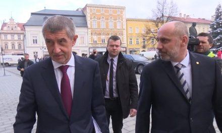 Andrej Babiš chválil vedení města Prostějova
