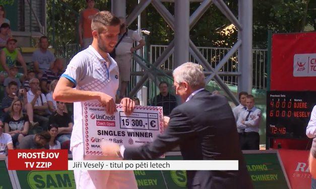 Jiří Veselý má druhé vítězství na turnaji ATP