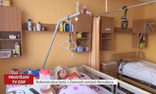 Od podzimu probíhá rekonstrukce Domova seniorů Nerudova