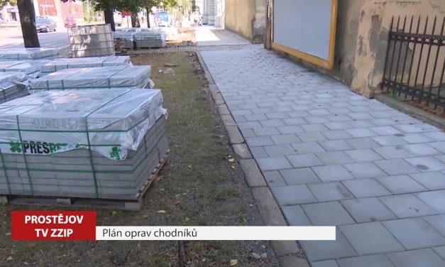 Město dá letos do oprav chodníků sedm milionů korun