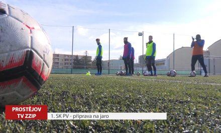 Fotbalisté 1. SK Prostějov vstupují do jarní části ligy