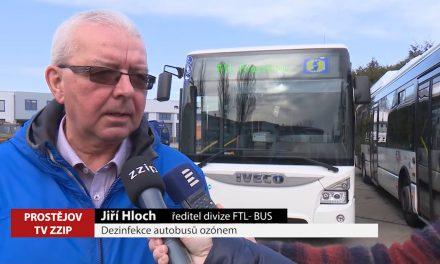 FTL dezinfikuje autobusy ozonem