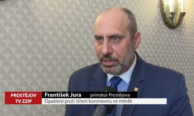 Opatření proti šíření viru v Prostějově