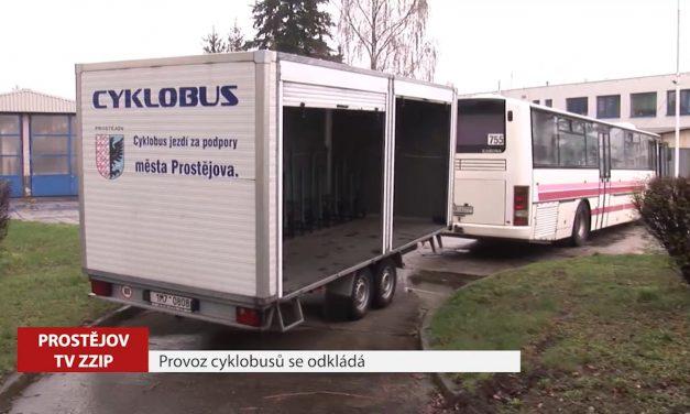 Zahájení provozu cyklobusů se odsouvá