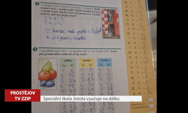 Speciální škola Jistota vyučuje na dálku