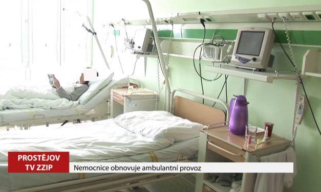 Nemocnice obnovila ambulantní provoz