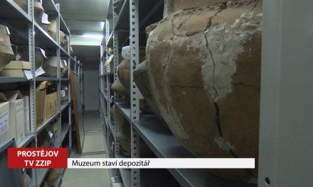 Muzeum staví nový depozitář