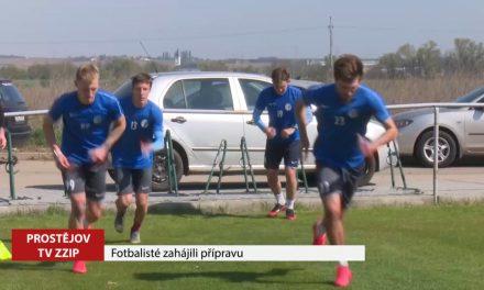 Fotbalisté Prostějova zahájili přípravu