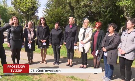 Město si připomnělo 75. výročí osvobození