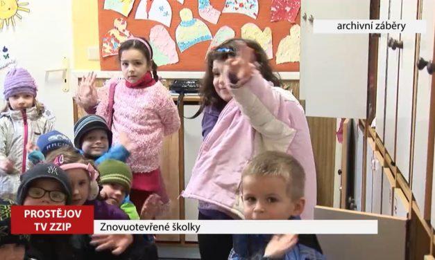 Od 18. května se otevřou mateřské školy