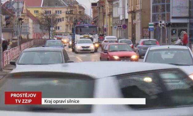 Kraj opraví dvě prostějovské ulice
