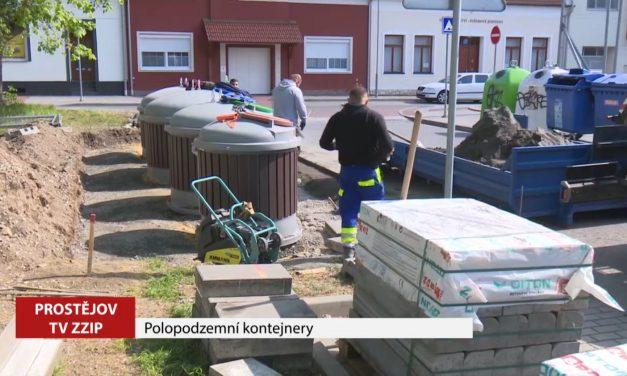 Polopodzemní kontejnery se rozšířují do dalších lokalit