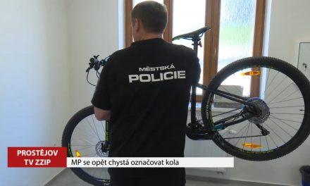 Městská policie začíná znovu označovat kola