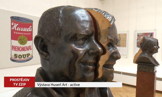 Výstava Huserl Art – active je opět přístupná