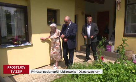 Primátor poblahopřál jubilantce ke 100 narozeninám