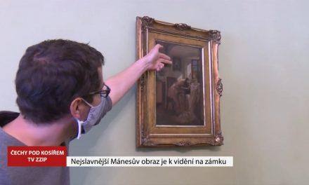 Nejslavnější Mánesův obraz je k vidění v Čechách pod Kosířem