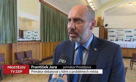 Primátor debatoval s lidmi o problémech města