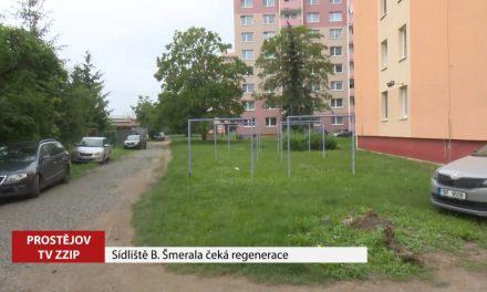 Sídliště B Šmerala čeká regenerace