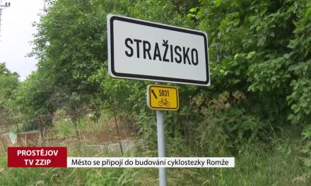Město se připojí do budování cyklostezky Romže