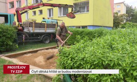 Čtyři dětská hřiště v Prostějově čeká modernizace