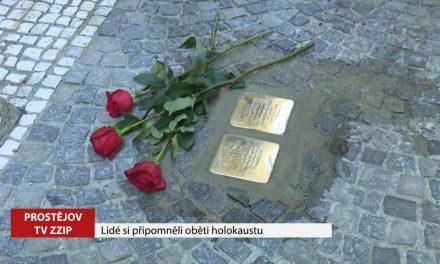 Lidé si připomněli oběti holokaustu