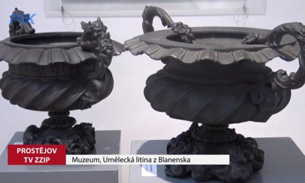 V muzeu je k vidění výstava umělecké litiny