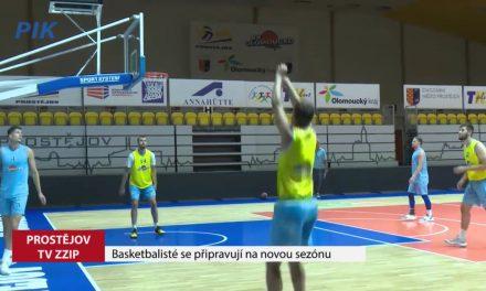 Basketbalisté se připravují na novou sezonu