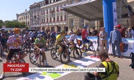 V Prostějově startovala etapa cyklistické Czech tour