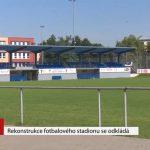 Rekonstrukce fotbalového stadionu se odkládá