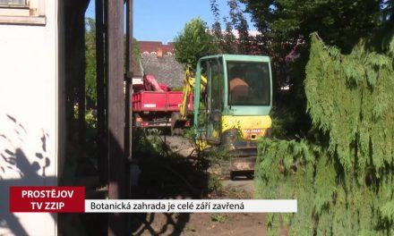 Botanická zahrada je celé září zavřená