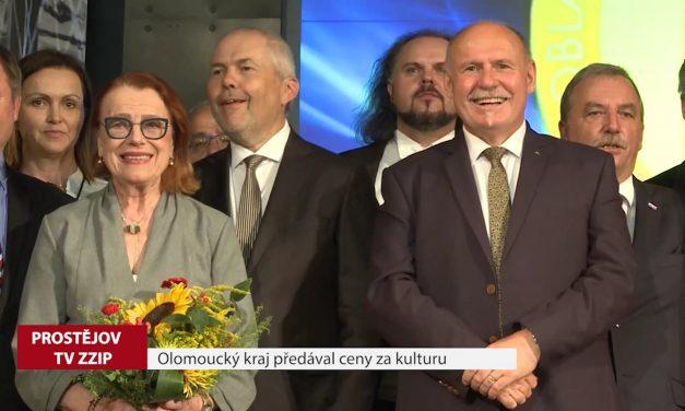 Olomoucký kraj předával ceny za kulturu