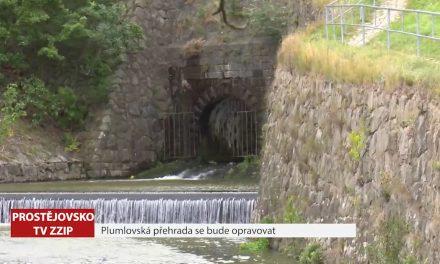 Plumovská přehrada se bude opravovat