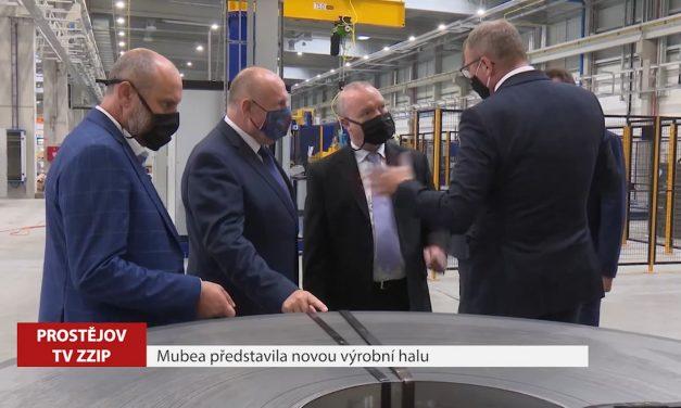 Mubea představila novou výrobní halu